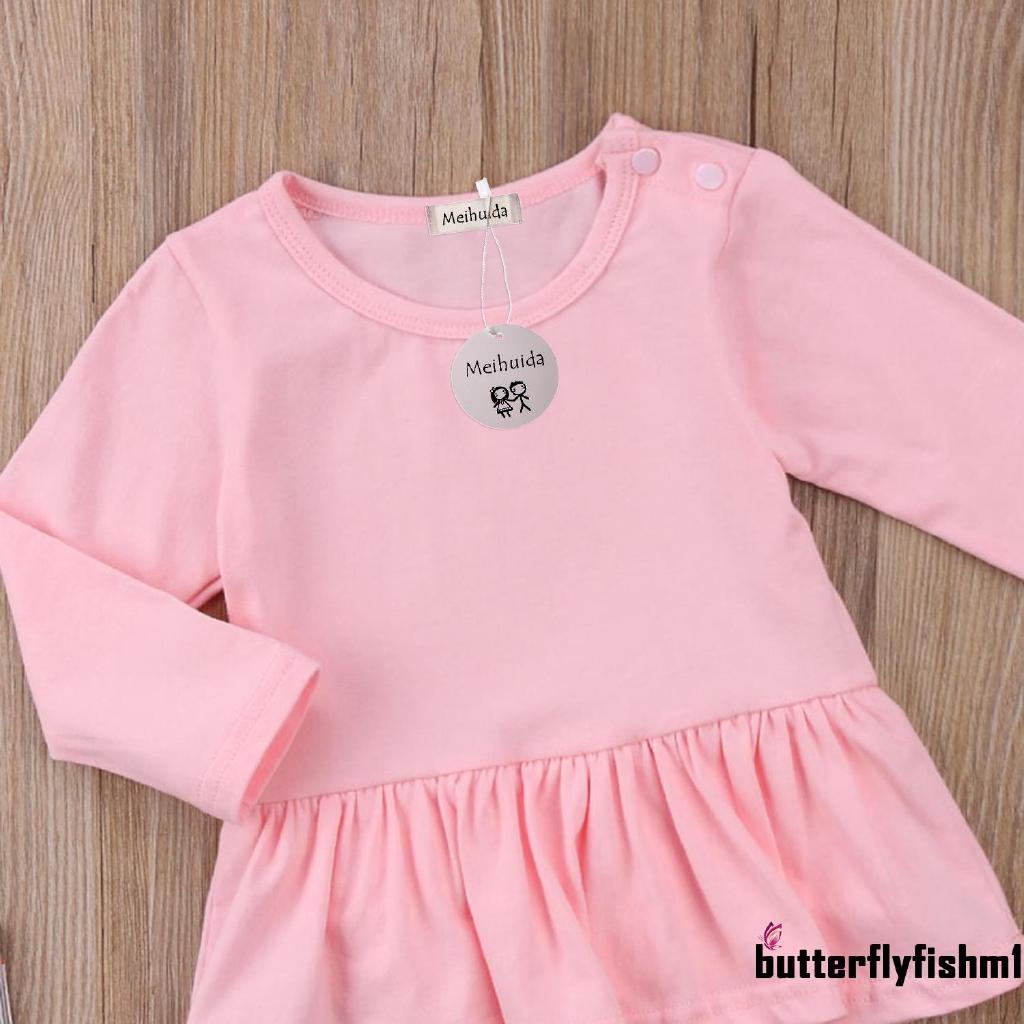 164e46d7cc38c IHH-Cute Toddler Newborn Baby Girl Long Sleeve Cotton Soft Romper Bodysuit  Tutu