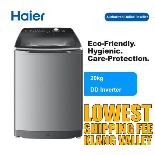 Haier HWM200-M1990DD 20KG DD Inverter Fully Auto Top Load Washing Machine Mesin Basuh