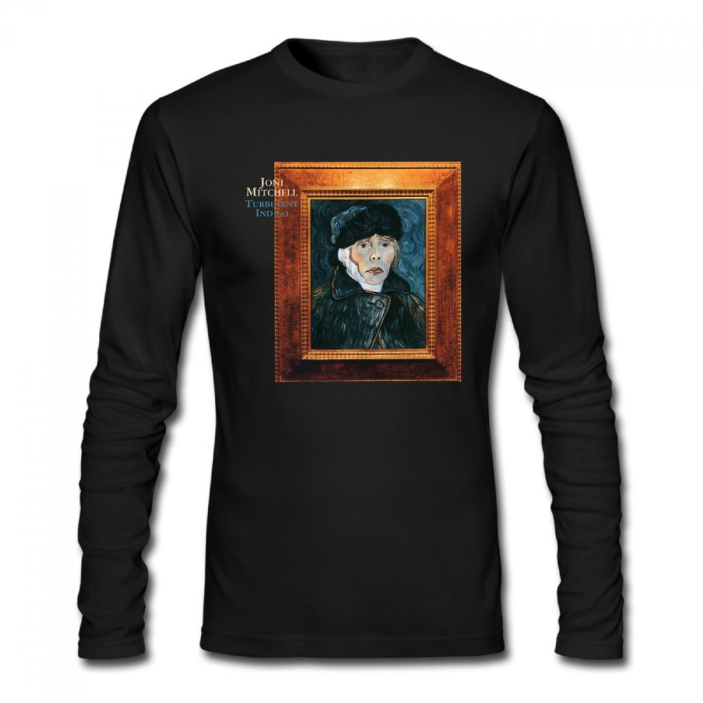 fbc4b1f43a3d Joni Mitchell Turbulent Indigo Men s Long Sleeve T-shirt