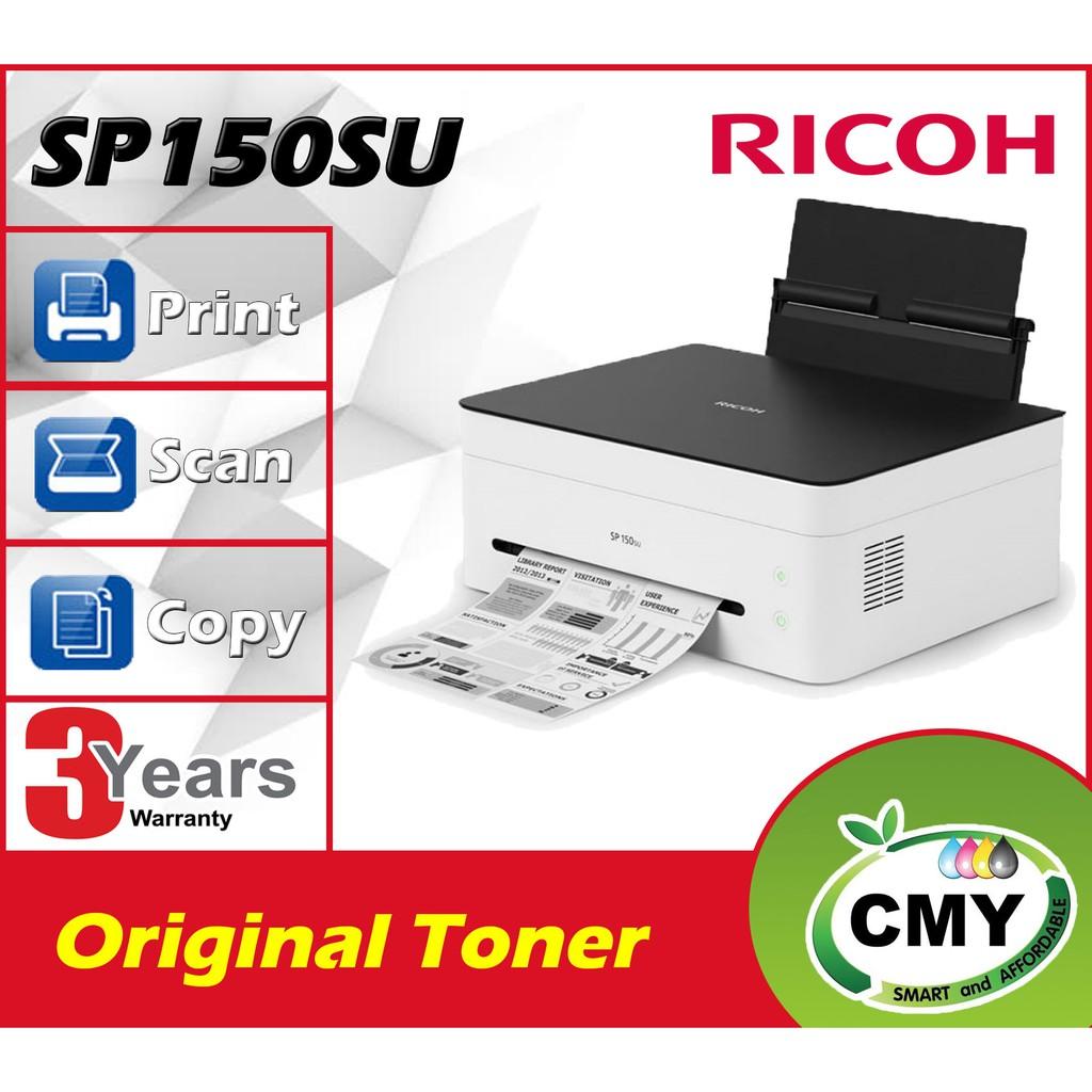 Ricoh SP 150SU Laser Printer (Print/Scan/Copy)