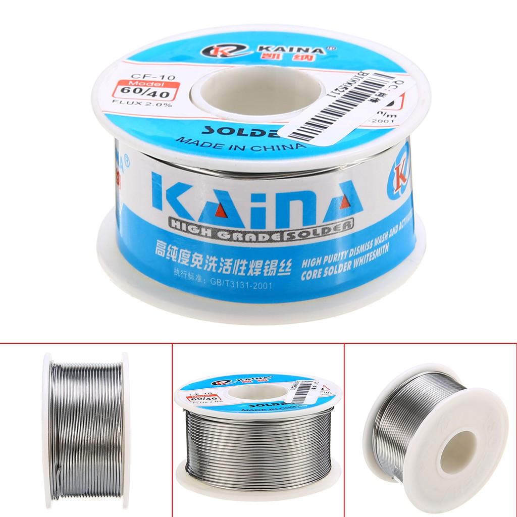 1.0mm 63//37 50g Rosin Core Solder Tin Lead Flux Soldering Welding Iron Wire T2