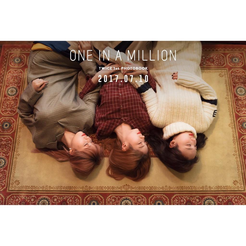 Twice 1st Photobook One In A Million Shopee Malaysia