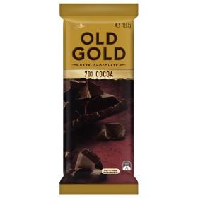 Imported Cadbury Old Gold 70 Cocoa 180g Dark Chocolate
