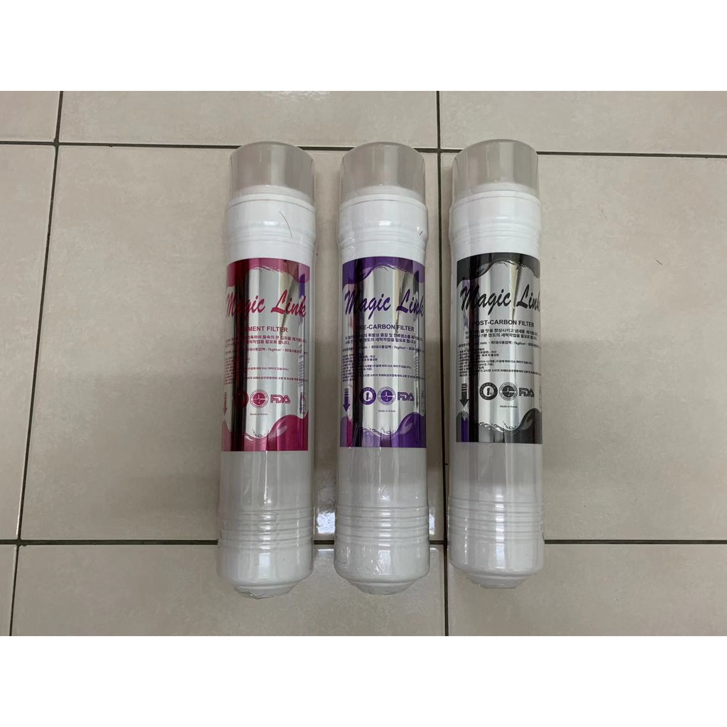 10-Inch 3 Stage Korea Magic Link Filter Water Dispenser Purifier