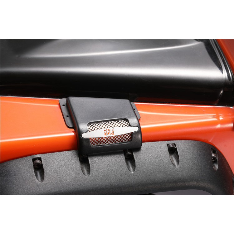 ForLandRoverDefender D90 D110 1//10 Traxxas TRX4 Steel Air Intakes Cover Kit