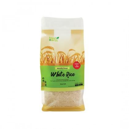 Love Earth Organic White Rice 1kg 乐儿有机珍珠白米 1公斤 (袋装)
