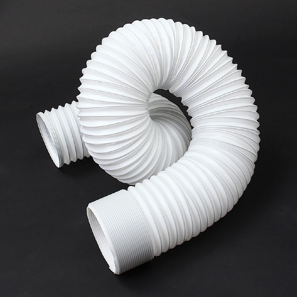 2/3M Flexible Air Conditioner Exhaust Pipe Vent Hose Tube