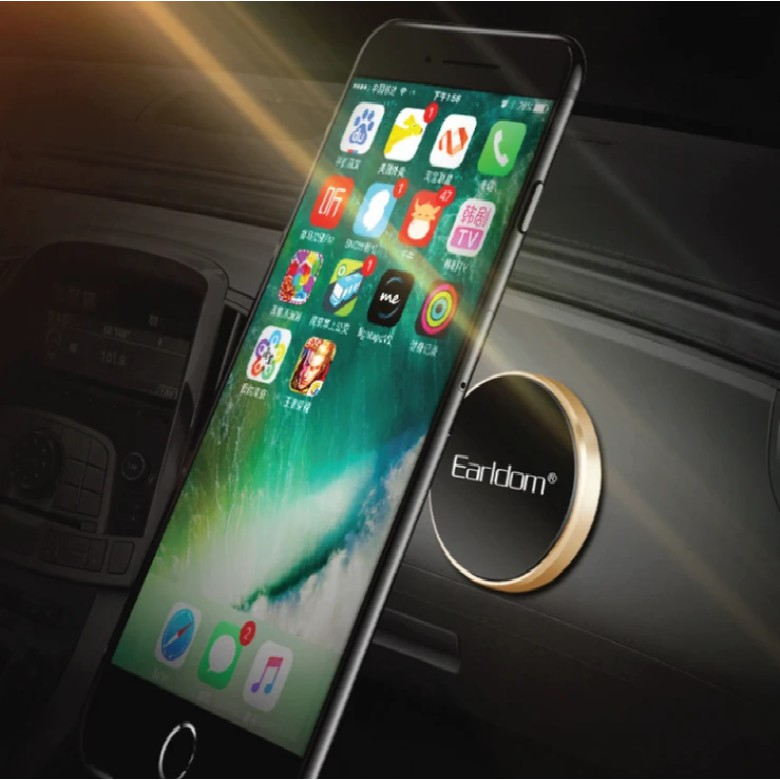 EARLDOM UNIVERSAL MAGNETIC MOUNT HOLDER ET-EH18 SAFE & FIRM STRONG MAGNETIC APPLIES TO ALL PHONEE