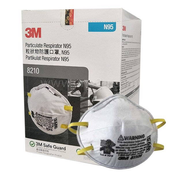 **Made in SG** READYSTOCK 3M™ Particulate Respirator Face Mask 8210, N95 (20PCS/BOX)