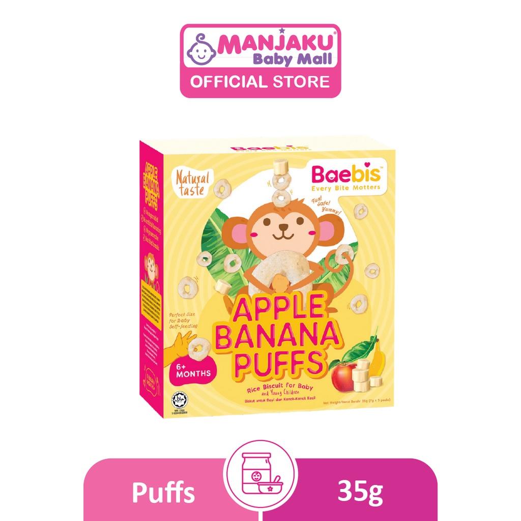 Baebis Banana Puffs 35g