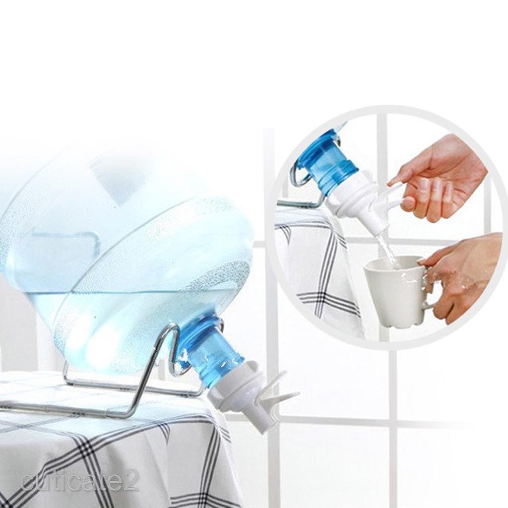 Food-grade White Water Dispenser Valve For 55mm Crown Top Bottle