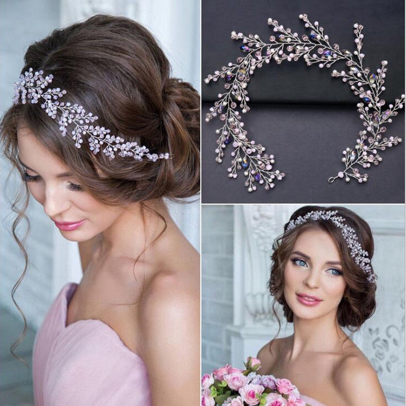 Bouquant Branch Bride Wedding Headdress