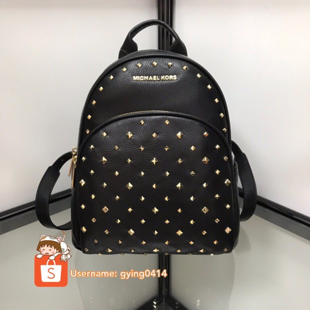 c7c5cb4d9d2b Authentic Michael Kors Abbey Ladies Women Leather Backpack Preorder Gift  Receipt | Shopee Malaysia