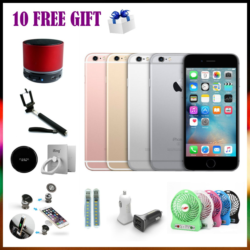 [11 Free Gifts] iPhone 6 Plus 16GB - New Imported Set - 1 Year Warranty