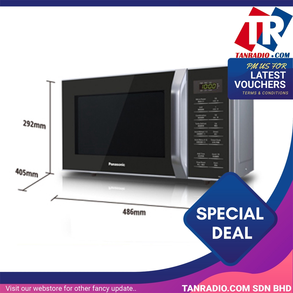 Panasonic Grill Microwave Oven 23L NN-GT35HM