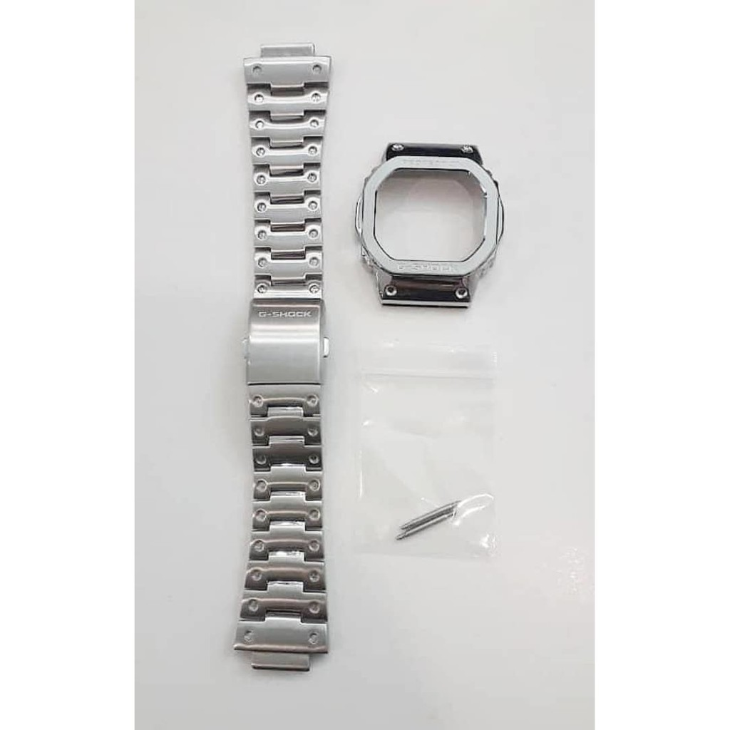 Diy Casio G Shock Metal Steel Watch Strap Replacement Dw5600 Gw