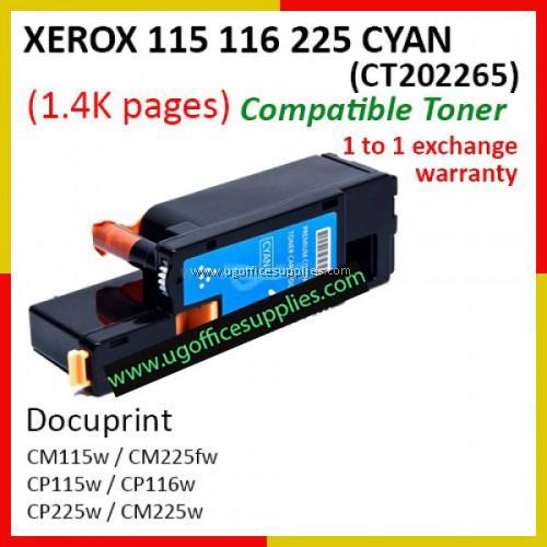 FUJI XEROX CP115/116/225 COMPATIBLE BLACK TONE CARTRIDGE (CT202264