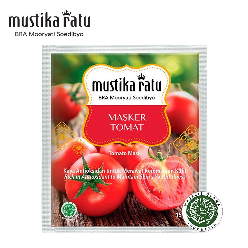 Mustika Ratu Masker Tomat For Fresh Skin Untuk Kulit Kusam (15g)