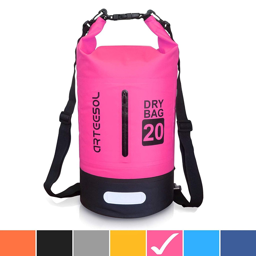 f41d36eb73a6 Arteesol Waterproof Bag 5L/10L/20L/30L Dry Bag Rucksack with Double  Shoulder Str