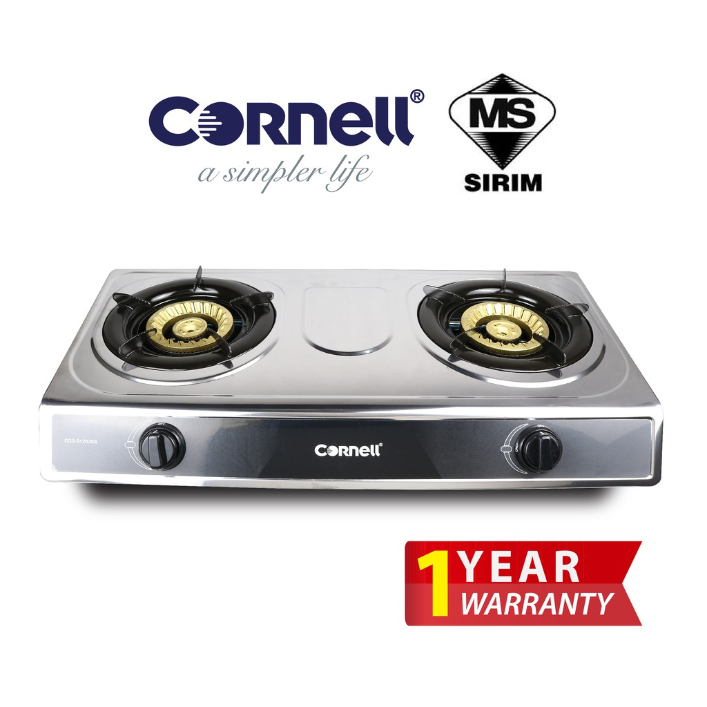 Cornell Stainless Steel Panel Gas Stove CGS-S1202SS