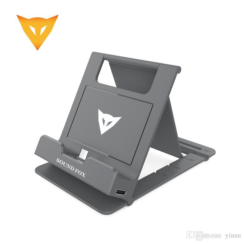 SOUNDFOX MULTIFUNCTION CHARGING BRACKET FOLDING STAND FOR NINTENDO SWITCH LITE