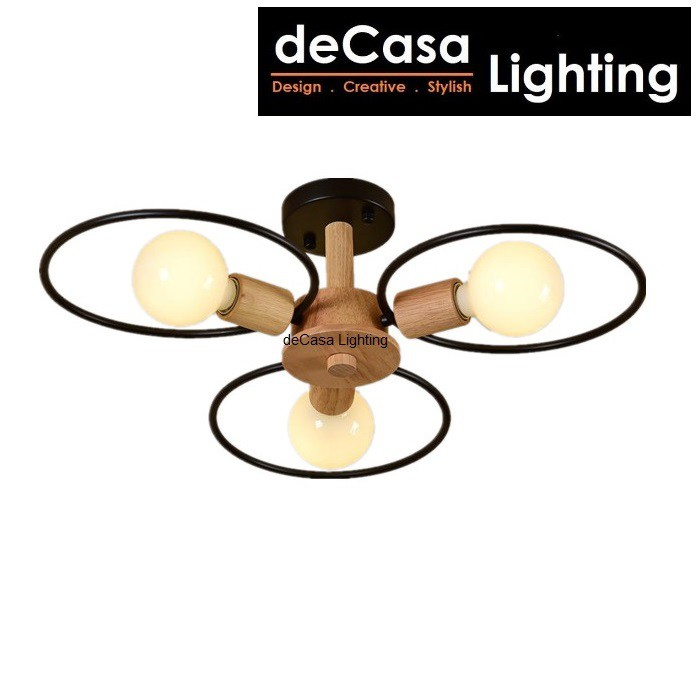 New Arrival Modern Design Ceiling Lamp Decasa Lampu Siling Hiasan Ikea Style Postmodern Ceiling Light (OS8044-3)