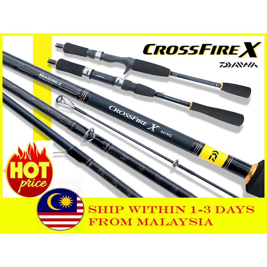 DAIWA CROSSFIRE-X SPINNING ROD - size 5'6