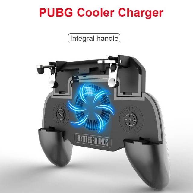 (MALAYSIA READY STOK) Mobile Gamepad Cooler cooling fan PUBG CONTROLLER GAME