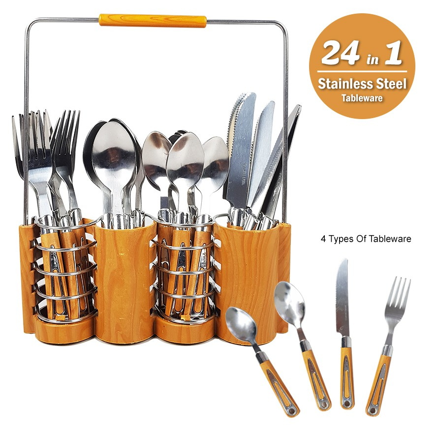 449e0a02e 📢Cheapest📢 !! Stainless Steel Kitchen Utensils Forks Spoon Holder ...