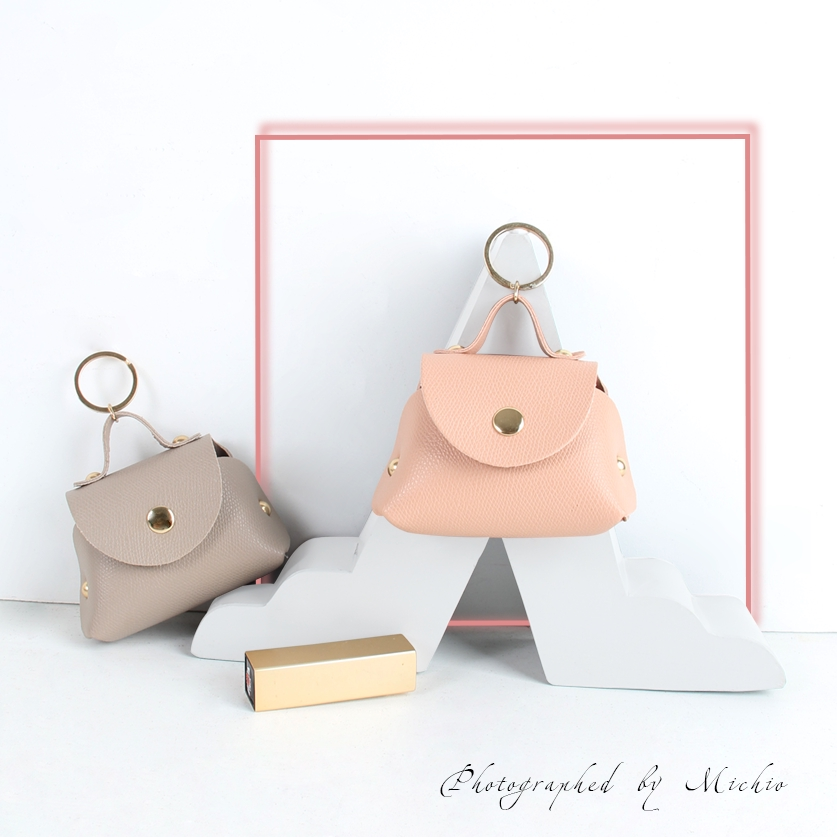 The Wola Logo-Coin Pouch with Key Ring