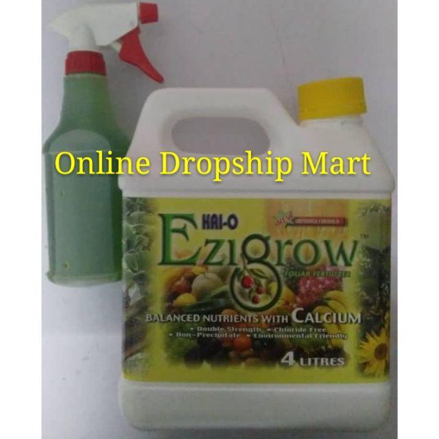 Ezigrow Baja Organik Spray 500ml (100ml Baja + 400ml Air)