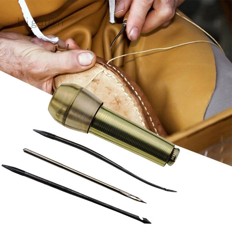 Kit Tool Sewing Shoe Repair Tool 1sets Sewing Tools Needle Awl Leather Craf 20