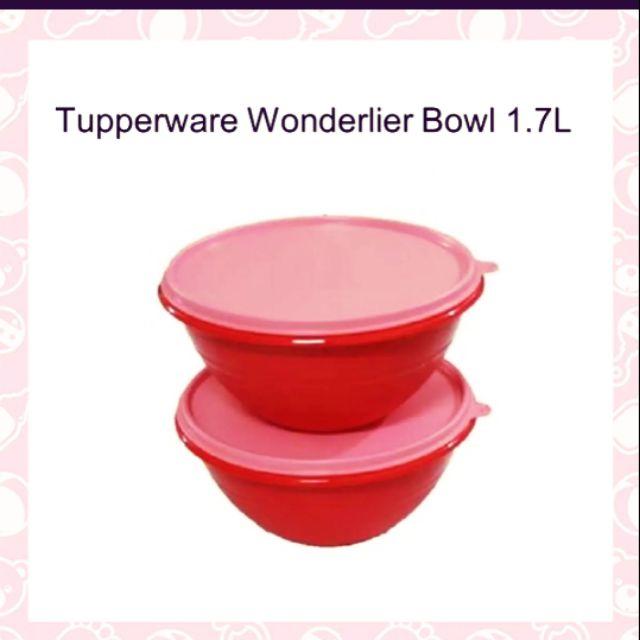 TUPPERWARE TEXTURED WONDERLIER BOWL 1.7L