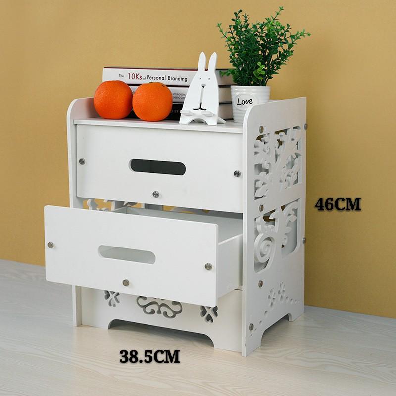 [ READY STOCK ]  Waterproof Wpc Storage Shelf Cabinet Rack Perabut Jualan Murah Kitchen Box Furniture Almari Kitchen