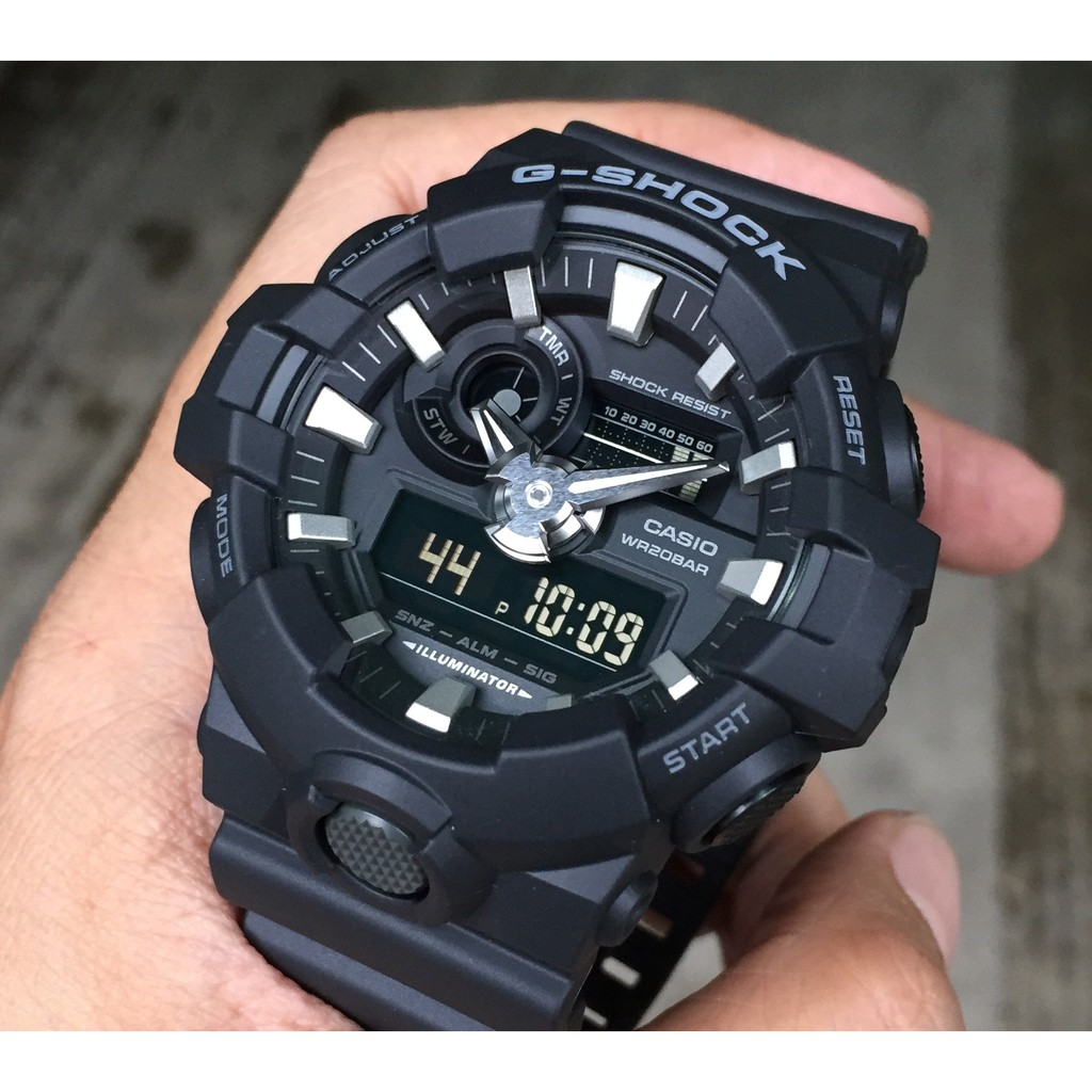 b49ff231e53 Watch - Casio G SHOCK GA700-1B - ORIGINAL