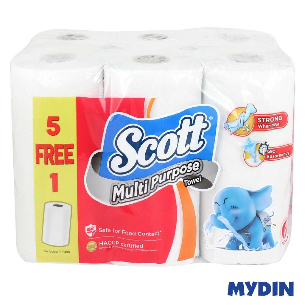 Scott Kitchen Roll Towel (6 Packs)