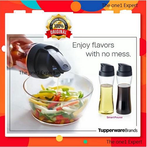READY STOCK | Tupperware Smart Pourer 770ml | Botol BBQ sauces, soy sauce, sesame oil, olive oil or milk