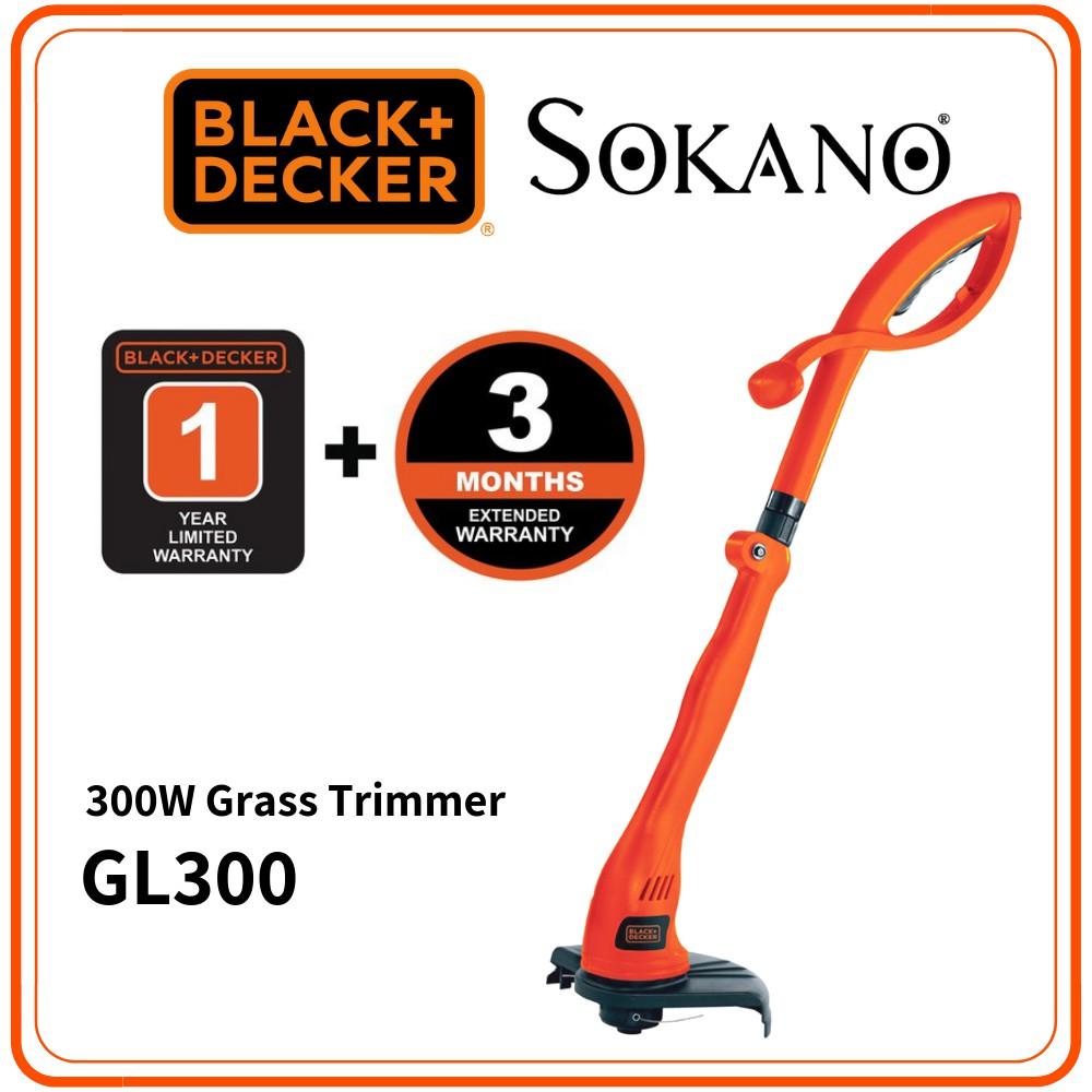 BLACK + DECKER GL300 23CM 300W Grass Trimmer