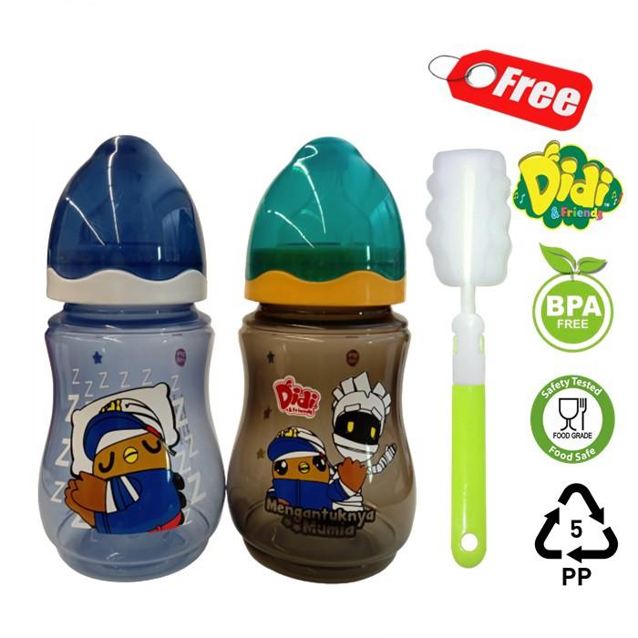 Botol susu Didi & Nana Friends 9oz Twinpack