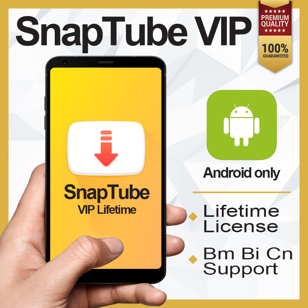 Android Snaptube Youtube Downloader Hd Video V5 05 Premium Upgrade Apk Shopee Malaysia