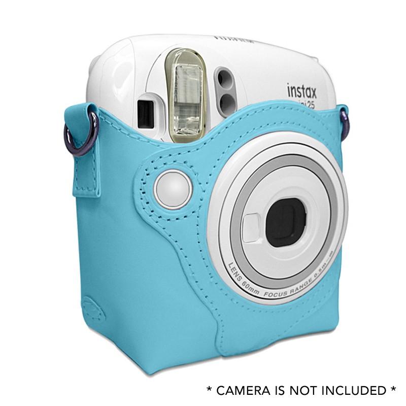 กระเป๋าหนัง PU ขนาดเล็กสำหรับ Fujifilm Instax Instant Camera-