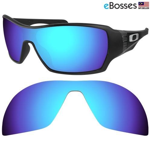 938b8a09b2 Black Polarized Replacement Lenses for Oakley Radarlock Path Sunglasses