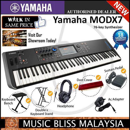 Yamaha Genos 76-key Arranger Workstation 7 in 1 Performance