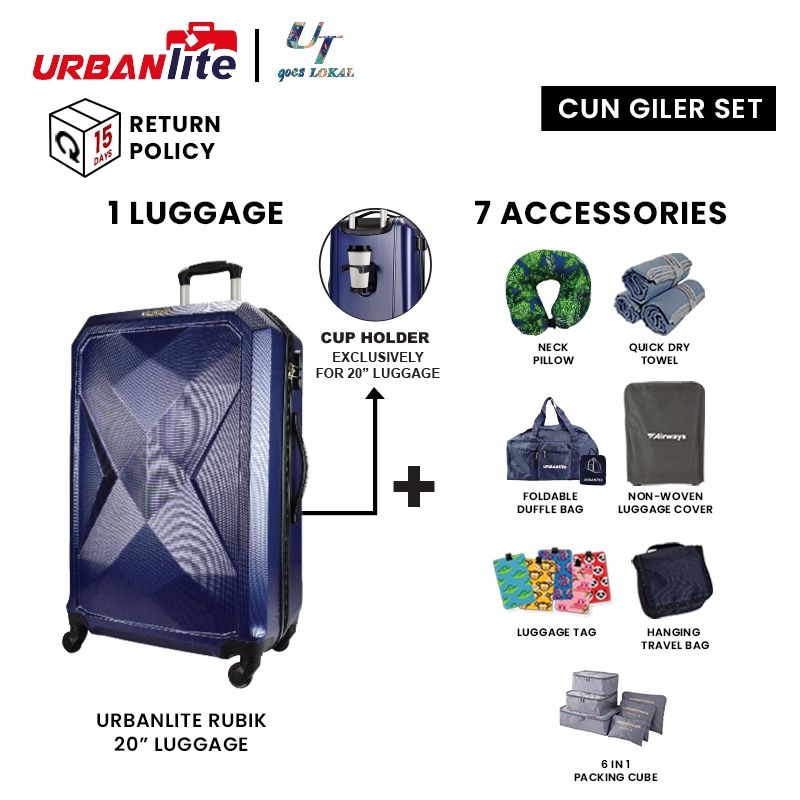 Universal Traveller Goes Lokal Cun Giler Set