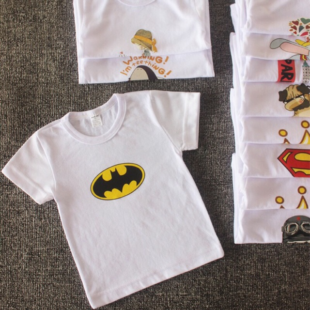 Boys Kids Toddler Printed Short Sleeve T-Shirt Tee Tops