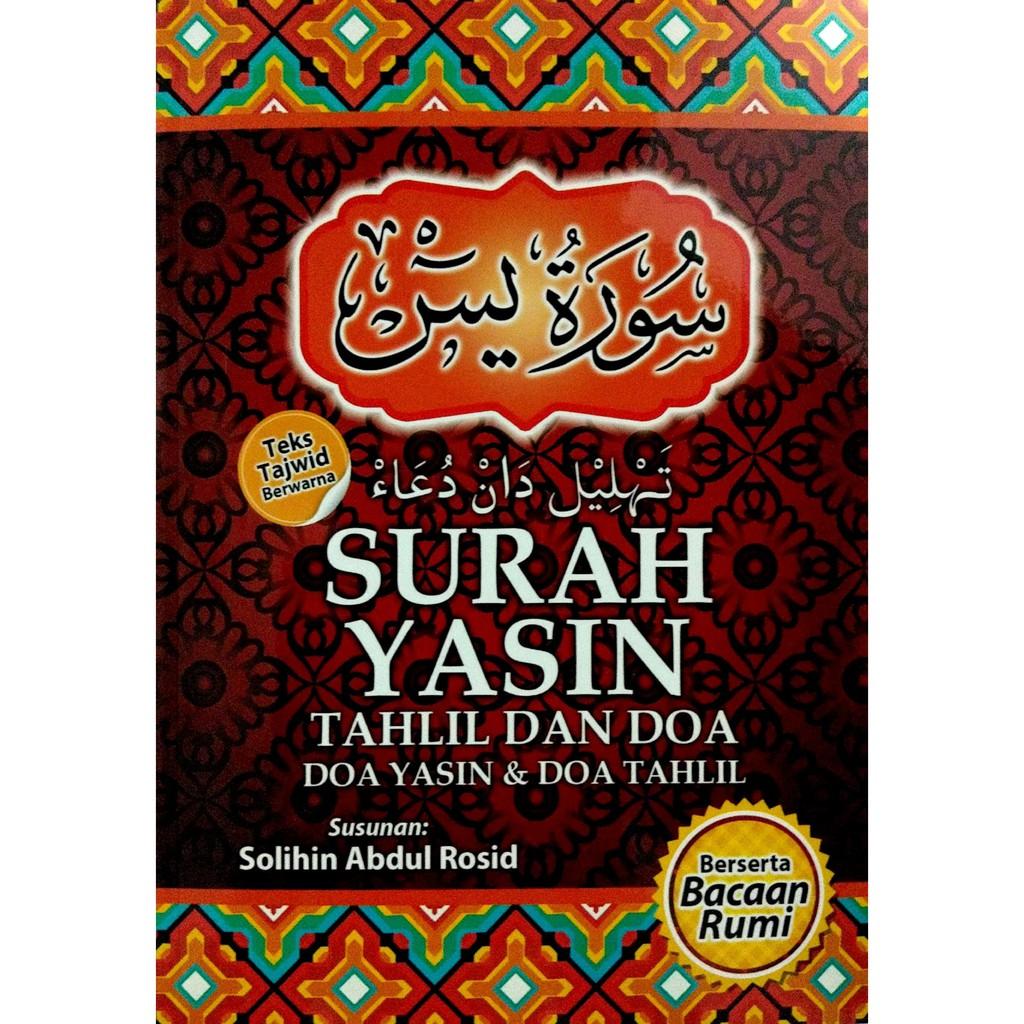 Surah Yasin Tahlil Doa Bacaan Rumi