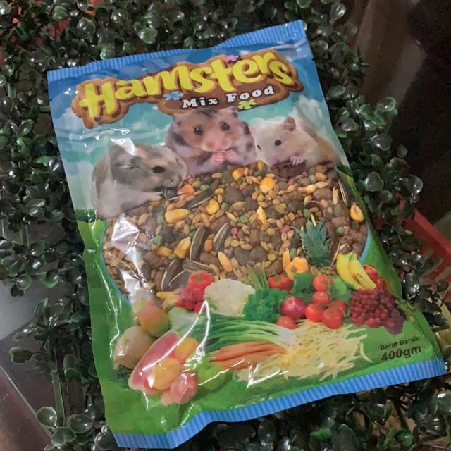 Hamster Mix Food 400g Makanan Hamster Murah Shopee Malaysia