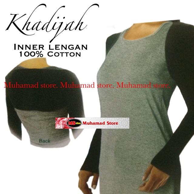 MUHAMAD STORE KHADIJAH INNER LENGGAN 100% COTTON FREE SIZE (MSSB)
