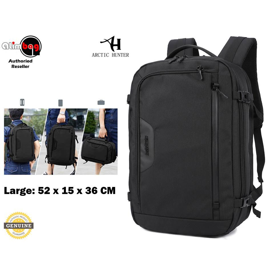 2f036e332bc ARCTIC HUNYER Multi-functional Waterproof Laptop Backpack Fits up to 15.6