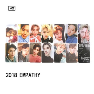 KPOP NCT U 127 2018 Empathy Album Paper Cards Taeyong Mark